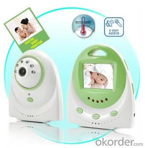 2.4 inch long distance two way talk wireless digital baby monitor