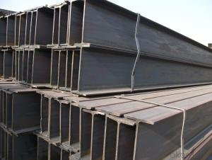 Steel H Beams JIS Beams Hot Rolled with Low Carbon