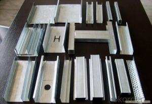 Gypsum Drywall Galvanized Steel Profiles