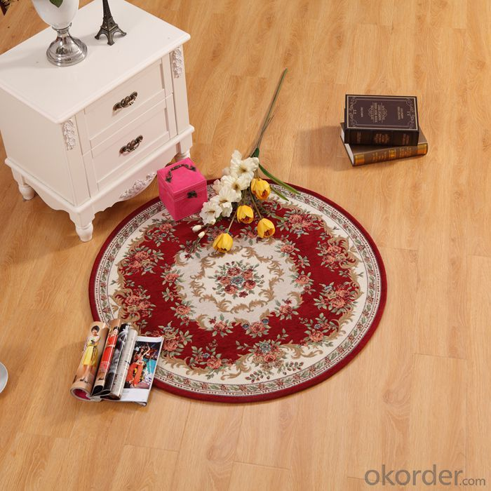 Good Quality Polyester Jacquard  Carpet with European Style