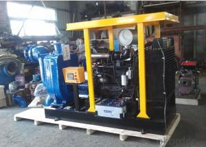 Four Wheel Trailer Diesel Water Pump for Irrigation