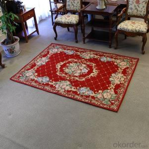 Hot Sale Single Chenille Jacquard Carpets and Rugs 80 x 100cm