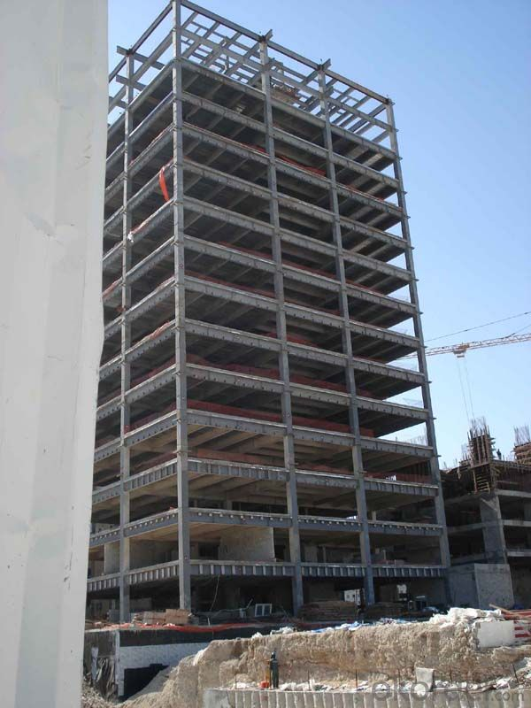 Prefabricated Steel Structure High Building Project