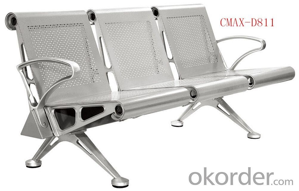Airport Area Strong Steel Waiting Chair CMAX-D811