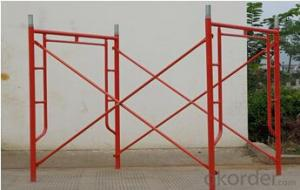Steel H frame scaffolding High quality 1524mm*1700mm