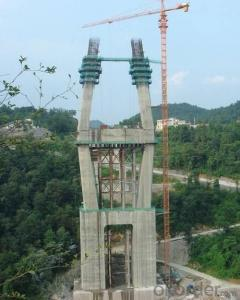 Auto-climbing Formwork QPMX-50 for bridge construction