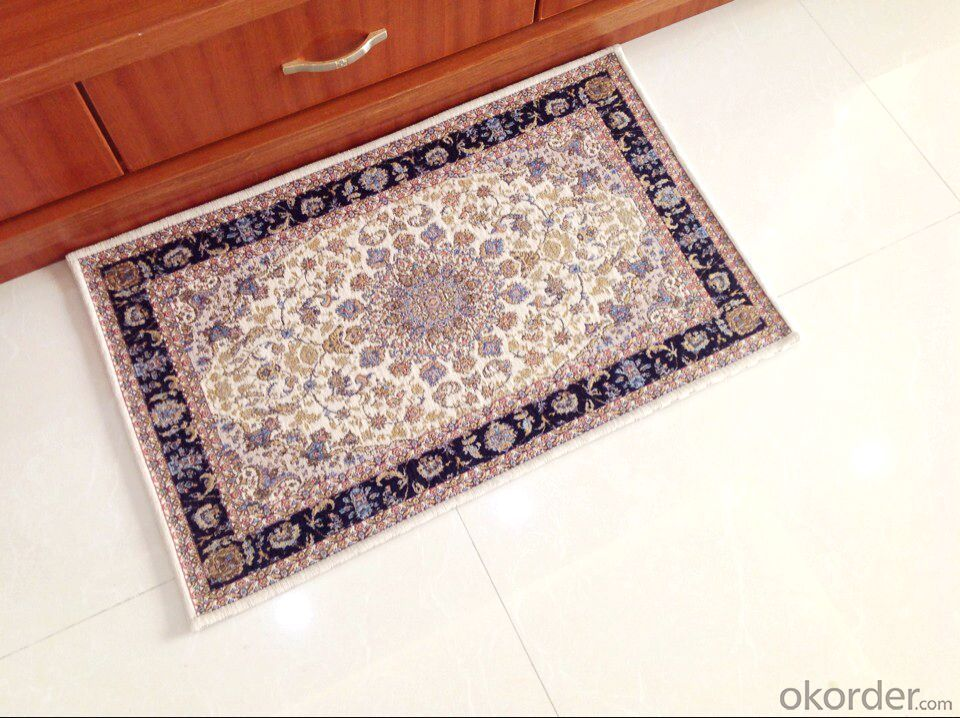 Popular Polyester Jacquard  Rug from China