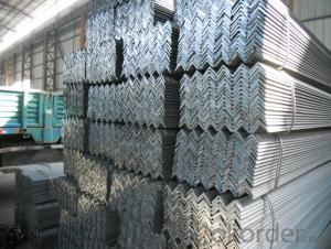 Hot Rolled Steel Angle Q235, A36,SS400 for Strcuture