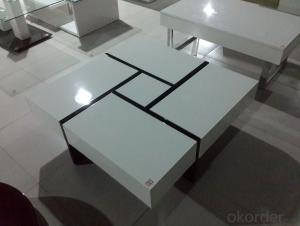 Wooden Coffee Table,, Simple and Fashion
