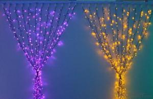 Holiday Season Waterproof Led Christmas Light 5Mm Wide Angle