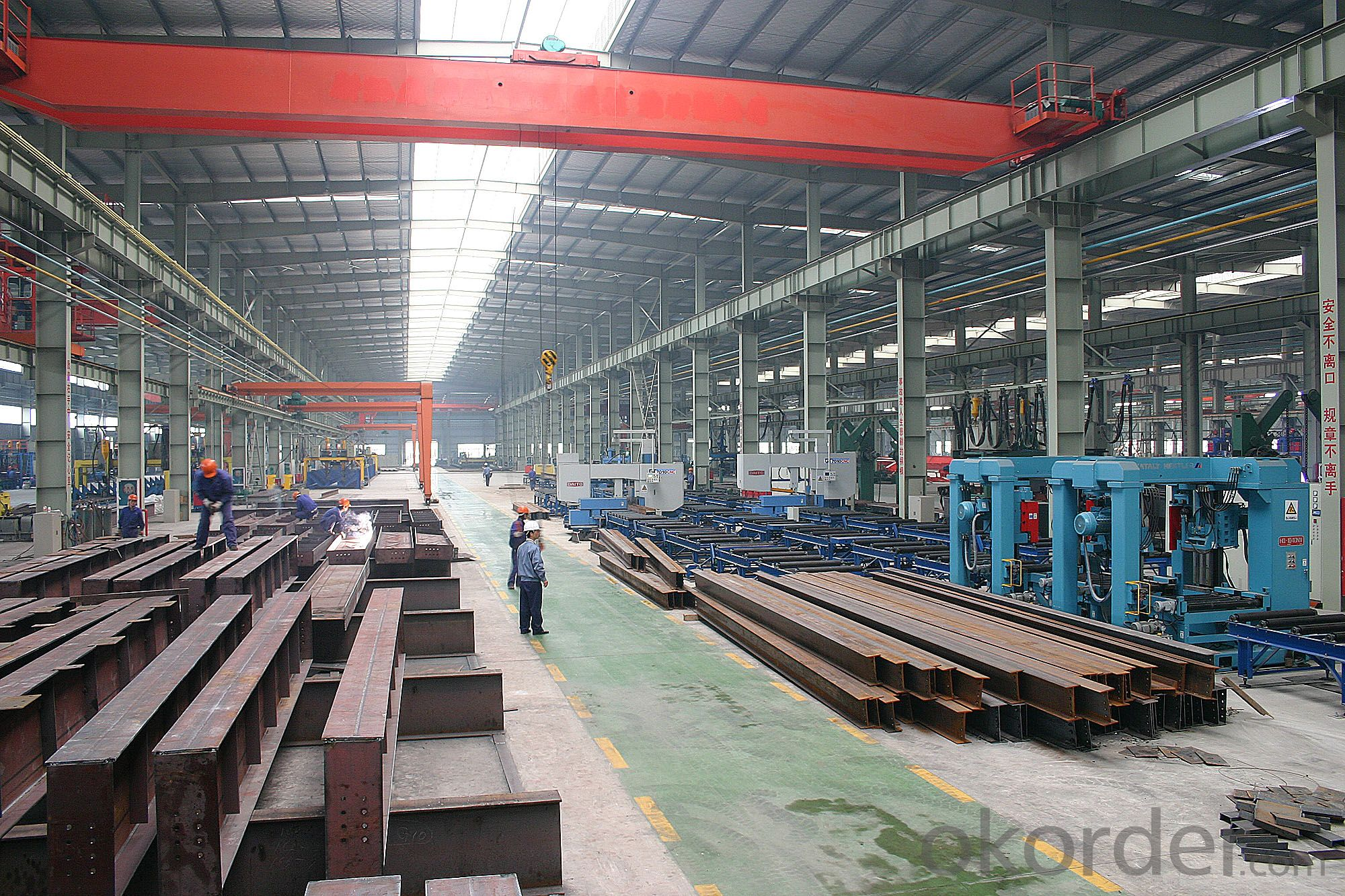 Prefabricated Steel Structure multi Funtionbuilding Project