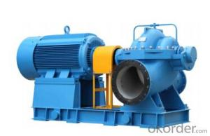 Single Stage Double Suction Water Pump for Pump Station