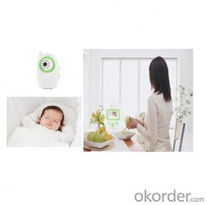 wireless baby monitor with 2.4 inch TFT-LCD,Night vision, Buitl-in Microphone