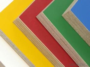Film  Plywood with Different Color with Low Price for Steel Formwork system