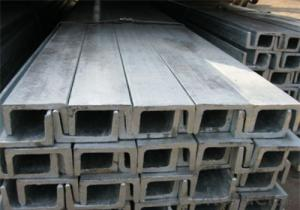JIS Standard Hot Rolled Channel Steel, carbon mild structural steel u channel