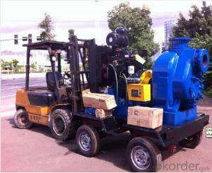 Centrifugal Diesel Engine Self Priming Water Pump for Irrigation