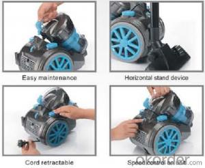 Big powerul cyclonic style vacuum cleaner with ERP Class A#C6235