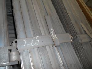 Tool Steel D6 Steel Plate, Forging Flat Steel 1.2436 Flat Bar, Forged Tool Steel D6 Steel Bars