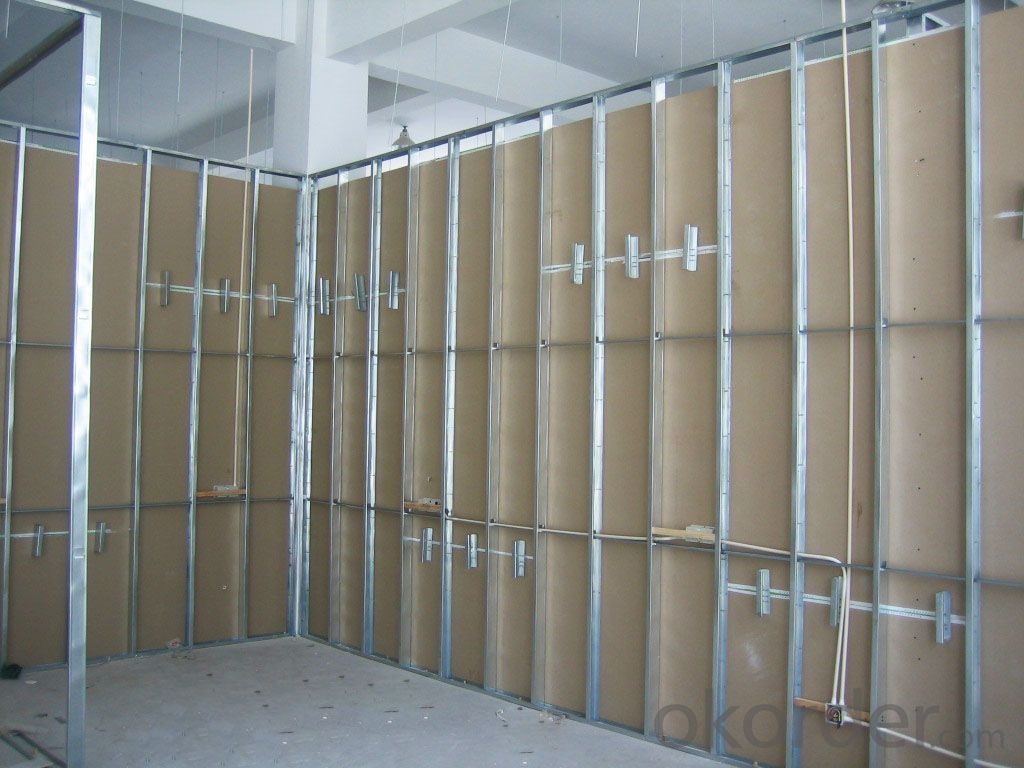 Galvanized Steel Profiles for Gypsum Board Partition
