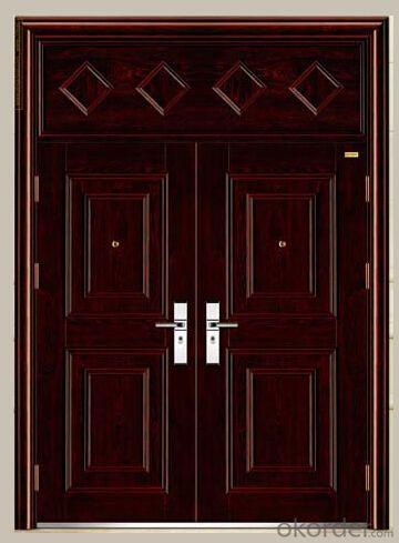 Prime High -End Galvanized Steel Door CY