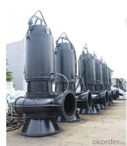 Vertical Submersible Sewage Pump for Flood Pumping