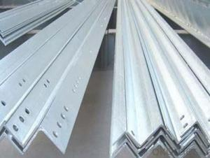 30 micron galvanized angle good quality
