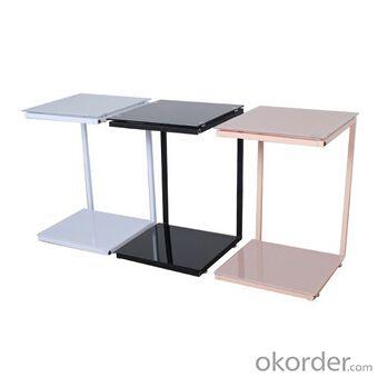 Simple Design Medium Density Fiber Board Dinner Table,