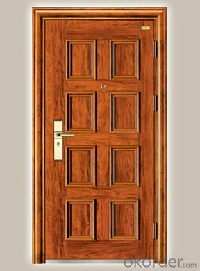 Prime High End Galvanized Steel Door in china