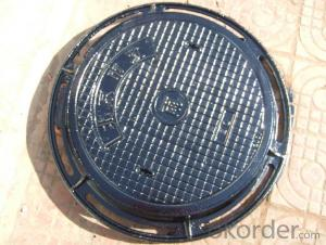 Ductile Iron Manhole Covers ΕΝ124 From China