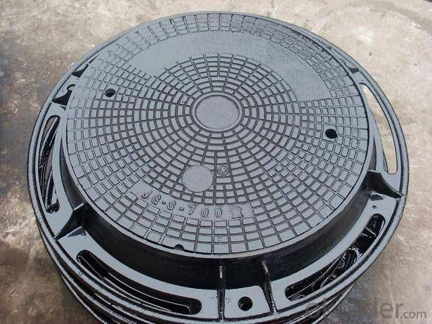 Ductile Iron Manhole Cover EN124 Made In China Good Quality
