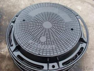Ductile Iron Manhole Covers EN124 Made In China C250