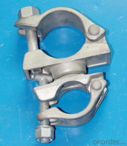 Customers Choice for Using  Swivel Scaffolding Swivel Couplers