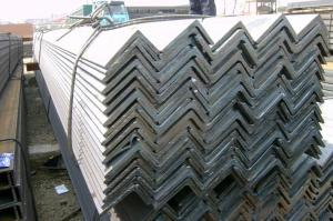 MS equal/unequal black & galvanized steel angle bar with high quality