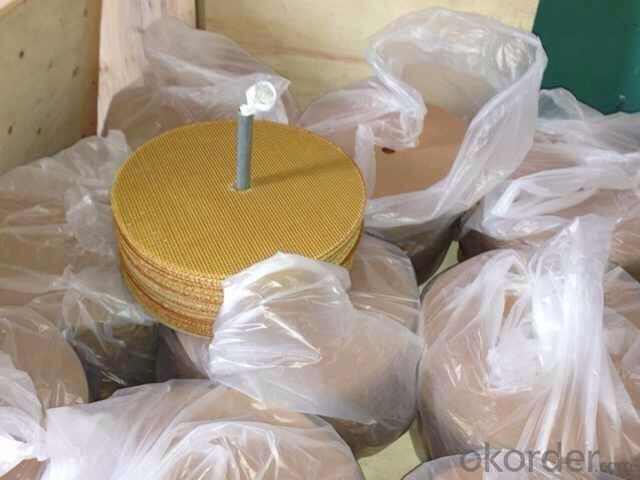 Fiberglass grinding wheel disc high quality