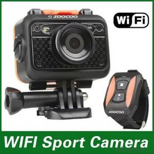 Wifi Sport Camera No Need Waterproof Case, Up to 60M Distance Underwater