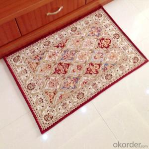 Popular Rectangle Chenille Jacquard  Carpets and Rugs