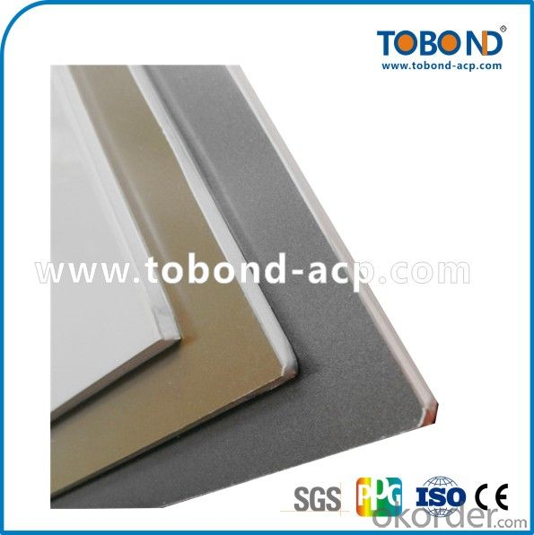 Grey coating outdoor aluminum panel TOBOND