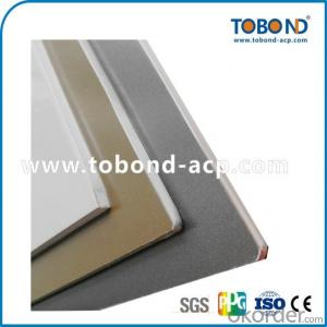 Grey coating outdoor aluminum panel TOBOND