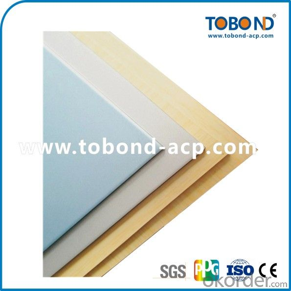 Golden mirror acp / TOBOND aluminum composite panel