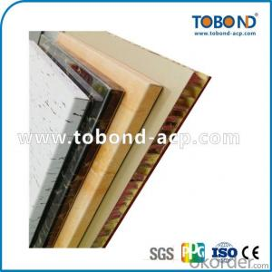 Wooden surface aluminum sheet / TOBOND ACP