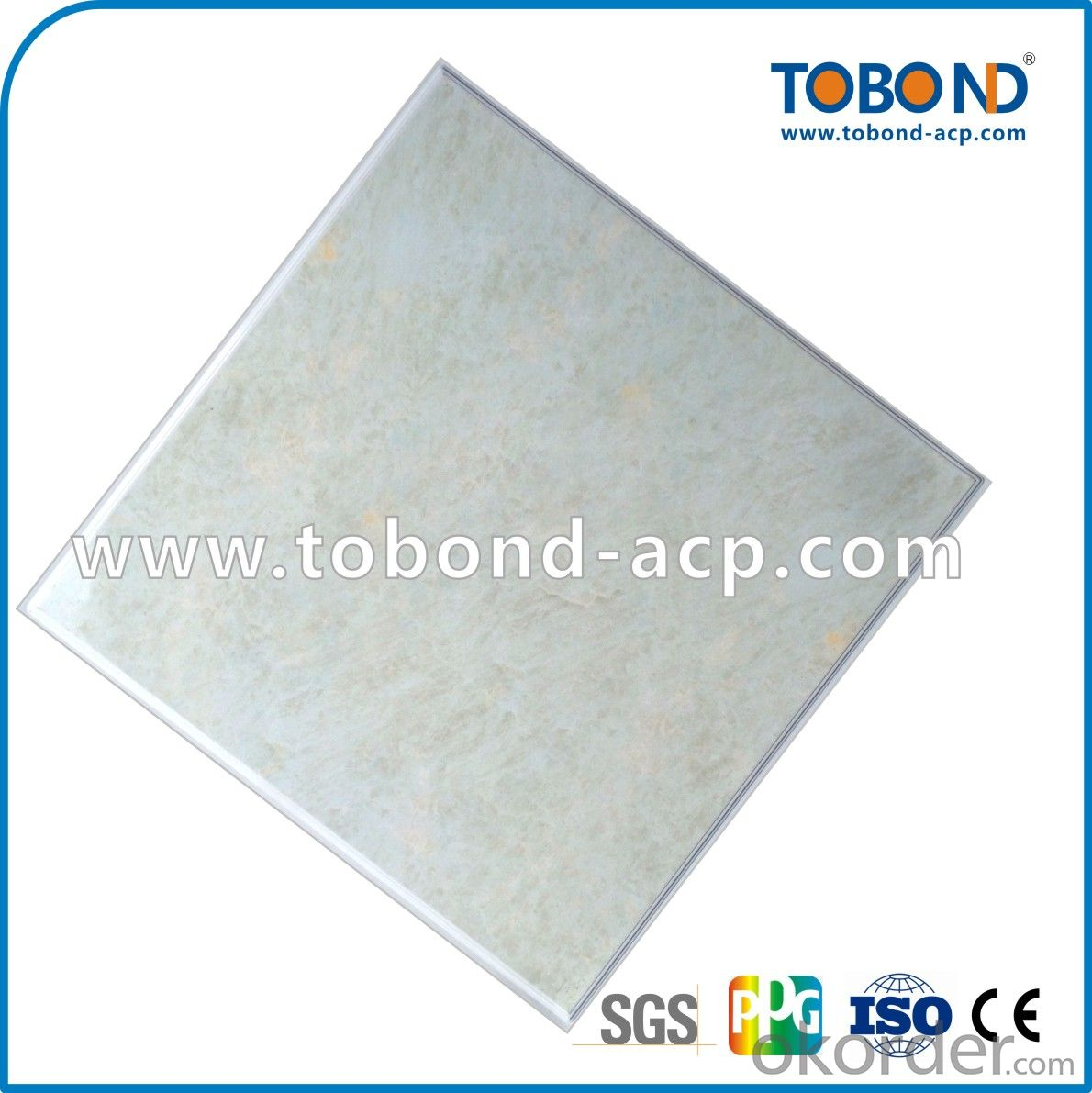 Ordinary power coating Project ceiling TOBOND
