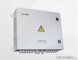 PV Array Combiner Box ( Monitor current as far as input array and display the value by RS485)