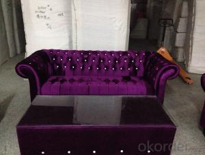 CNBM bounded leather chesterfield sofa CMAX-17