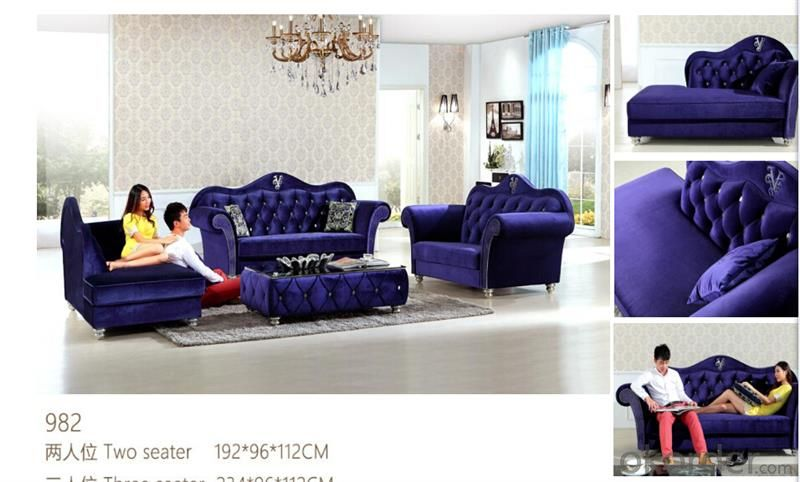 CNBM bounded leather chesterfield sofa CMAX-06