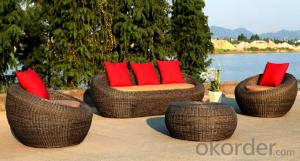 Professional Outdoor Rattan Garden Sofas  CMAX-MJT5229