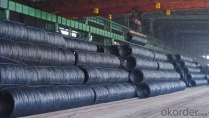 Hot Rolled Steel Wire Rod steel SAE1008 SAE1018  for Construction
