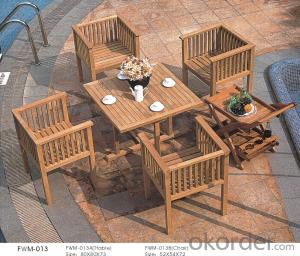 Plywood Garden Dining Outdoor Plasic Chair Patio Wood Furniture