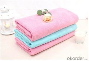 Microfiber cleaning towel with quality designs