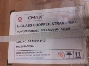 E-glass Chopped Strand Mat For FRP Pipe And FRP Panel