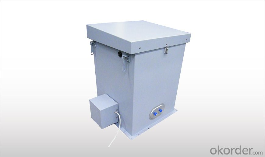 WAM DUSTSHAKE R02 Polygonal Dust Collectors with Shaker Cleaning